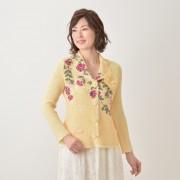 ラメ糸刺繍テーラードジャケット【QVC】40代・50代レディースファッション