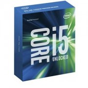 Intel Core i5-6600K - Processor - 3.5 GHz - 6 MB cache - LGA1151 Socket - Intel HD Graphics 530 - zilver