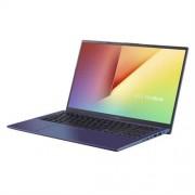 "ASUS VivoBook X512UA-EJ331T Intel i3-7020U 15.6"" FHD matny UMA 4GB 256GB SSD WL Cam Win10 CS modry"