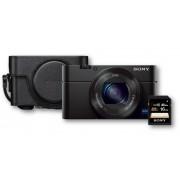 Sony Kit Premium cámara Sony Cybershot DSC-RX100 M4 + Funda + Tarjeta memoria 16Gb