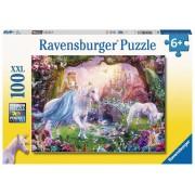 Puzzle Zana Si Unicorn, 100 Piese