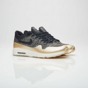 Nike Wmns Air Max 1 Ultra 2.0 Fk Mtlc Black/Black/Metallic Gold Star/Flat Opal