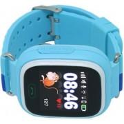 Dječji pametni sat CORDYS, praćenje lokacije, primanje i slanje poziva, slanje SMS-a, plavi