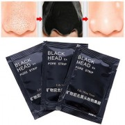 Charcoal Gel Peel-off Mask Anti-Blackhead Gel Mask For Soft And Smooth Skin - Pack of 3