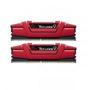G.SKILL DDR4-2400 16GB Dual Channel Ripjaws V Blazing Red [F4-2400C15D-16GVR]
