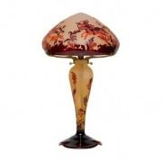 La Rochère Lampe en pâte de verre Scène de chasse