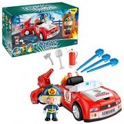 Pinypon Action Bombero- vehículos de acción Action Figure