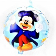 Balon folie Mickey Mouse Read is Fun Domi Party and Gifts Multicolor 43cm
