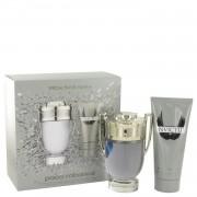 Invictus by Paco Rabanne Gift Set -- 3.4 oz Eau De Toilette Spray + 3.4 oz Shower Gel