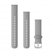 Garmin Correas de desmontaje rápido Garmin (18 mm) - Gris/Plata