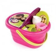 Детска играчка, кошница за пикник, 21 части, Маша и мечока, 043269