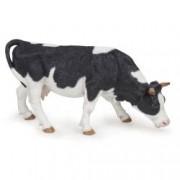 Figurina Papo - Vaca alb cu negru pascand