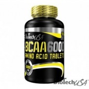 BioTech USA BCAA 6000 100 db tabletta - 100 db