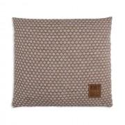 Knit Factory Juul kussen 50x50 marron/beige