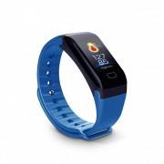 Brățară inteligentă F1 albastru - caracteristici- fitness, conectare anti-furt, Android și ios.