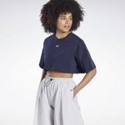 Reebok Crop top à manches courtes Vector Velour