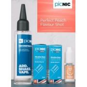 Lichid Tigara Electronica Premium Jac Vapour Perfect Peach 70ml, Nicotina 5,1mg/ml, 80%VG 20%PG, Fabricat in UK, Pachet DiY