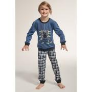Spider fiú pizsama kék 122128