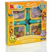 Kliky Puzzle Magnetic Animale Safari Supermag