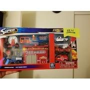 Express Wheels Fire Station Super Playset