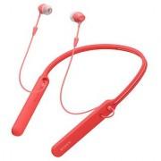 Sony WI-C400 Neckband Red With MIC 1 Year Sony India Warranty
