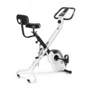 Azura X2 Bicicleta Ergométrica 120kg Monitor Pulsação Guiador 4 kg Branco