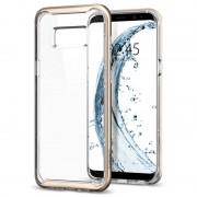 Capa Spigen Neo Hybrid Crystal para Samsung Galaxy S8 - Dourado