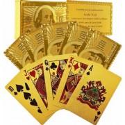 KARTIK Golden Plated Playing Cards