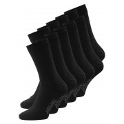 JACK & JONES 10-pack Plain Socks Man Svart