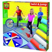 Детски занимателна игра - Тебешири скок подскок, Twist & Jump, SES, 080038