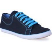 Shoe Fellow Blue Canvas casual shoes for men Casuals For Men(Black)