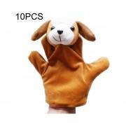 10 Pcs Cuentos Niños Peluches Lindo Zoo Animal De Granja Glove Puppet Plush Toy Mano Muñecas, Color Al Azar Entrega
