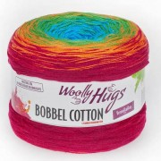 Woolly Hugs Bobbel Cotton von Woolly Hugs, Bunt