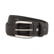 GANT Plain Leather 3,5 cm Belt Black