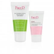 FaceD Kit anti-age: siero viso e contorno labbra