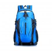 Mochila Para Escalar La Montaña Al Aire Libre 40L Impermeable - Azul