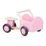 New Classic Toys Bakfiets roze/blank