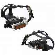 Meco Cycling Fixie Road Mountain Bike Bicycle Pedals Toe Clips Straps