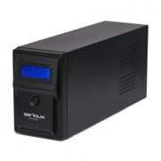 UPS Serioux 600VA, Line Interactive, 600VA/360W, 2 porturi Schuko, RJ45 +USB, carcasa metalica, functie AVR, repornire automata SRXU-600LI (SERIOUX)