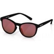 Fastrack Round Sunglasses(Red)