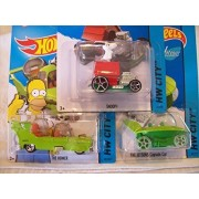 2015 Hot Wheels Hw City: Snoopy, The Homer, The JETSONS Capsule Car Lot of 3!!
