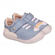Pantofi Fete Bibi Grow Bleu-Curcubeu