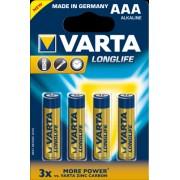 Baterii Alkalina R3 4 buc/blister Longlife VARTA