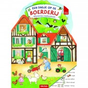 Top1Toys Boek Een Dagje Op De Boerderij Kartonboek