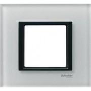 UNICA CLASS Rama simpla Sticla Orizontala IP20 Alb MGU68.002.7C2 - Schneider Electric
