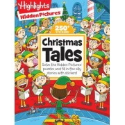 Christmas Tales: Solve the Hidden Pictures(r) Puzzles and Fill in the Silly Stories with Stickers!