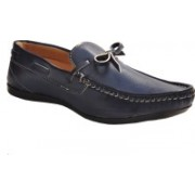 Shoe Striker Navy Blue New Style Boat Shoes For Men(Navy)