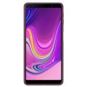"Telefon Mobil Samsung Galaxy A7 (2018), Procesor Octa-Core 2.2GHz, Super AMOLED Capacitive touchscreen 6"", 4GB RAM, 128GB Flash, 24+5+8MP, 4G, Wi-Fi, Dual Sim, Android (Roz) + Cartela SIM Orange PrePay, 6 euro credit, 6 GB internet 4G, 2,000 minute nation"