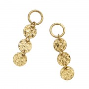 18K スリーピース デザイン チャーム【QVC】40代・50代レディースファッション