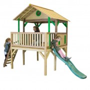 AXI Playhouse with Ladder and Slide Baloo Wood A030.218.00